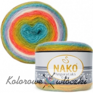 Nako Angora Luks Color 81910